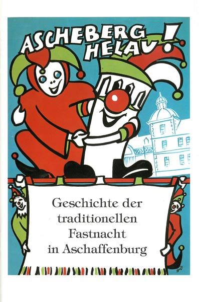 Umschlag Begleitheft zur Ausstellung Ascheberg Helau!