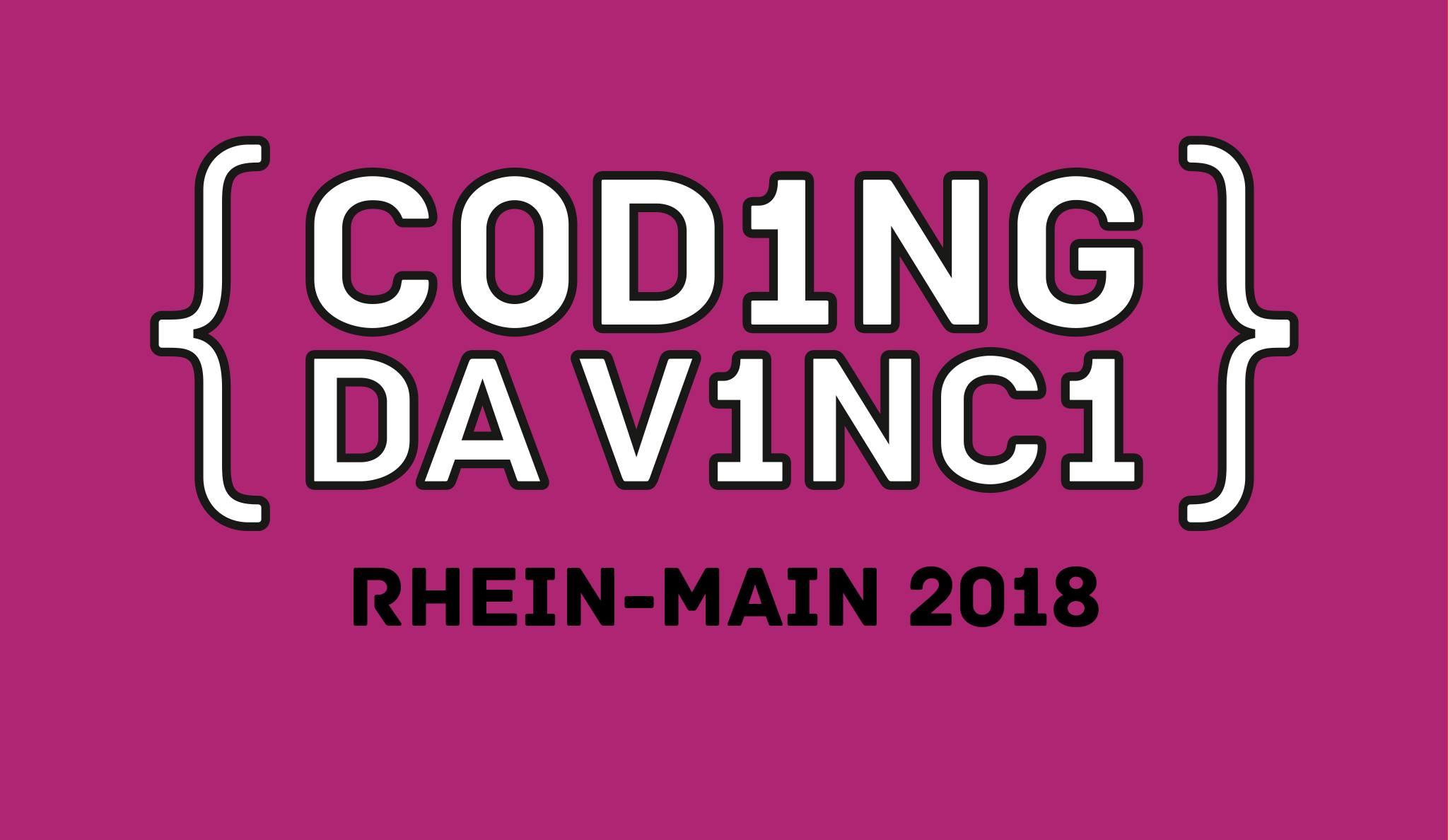 Coding da Vinci Rhein-Main 2018 Logo
