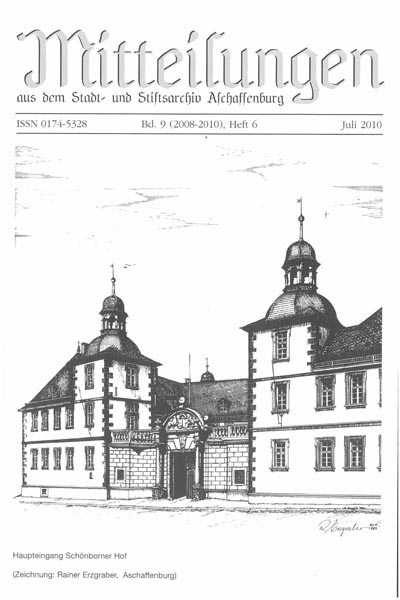 Umschlagsblatt zu dem Sonderheft Bachgaubahn